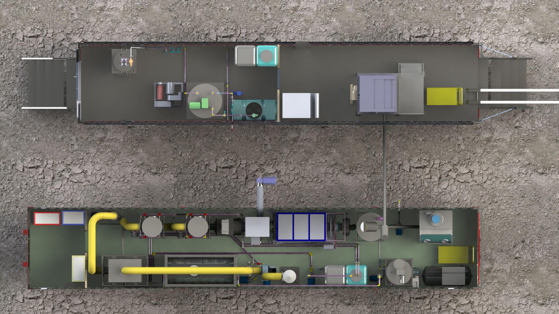 Конструкция ТКУ - 100